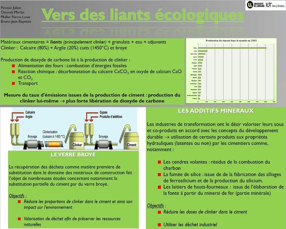 Prix Matériaux-Transformation-Energie_Liants alternatifs