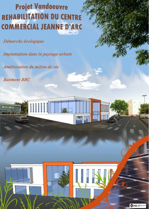 Réhabilitation centre commercial